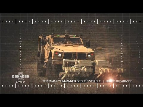Oshkosh Defense - TerraMax™ Unmanned Ground Vehicle (UGV) Technology [1080p]