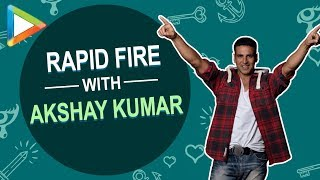 "Akshay Kumar: ""India is the BEST country"" - HUNGAMA"