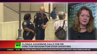 Florida governor calls for FBI director resignation over Parkland shooting - RUSSIATODAY