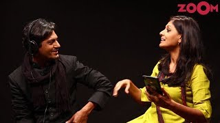 'Manto' star Nawazuddin Siddiqui & Director Nandita Das play a fun game | Exclusive - ZOOMDEKHO