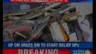 Greater Noida: 2 buildings collapsed in Shahberi; round the clock rescue operations underway - NEWSXLIVE