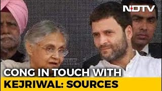 In AAP-Congress Alliance Talks, A Vote Share Survey And An Opinion Poll - NDTV