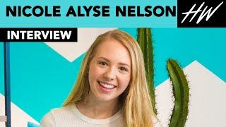 I Am Frankie, Nicole Alyse Nelson Obsessed With Show And Cast Alex Hook & Carson Rowland I Hollywire - HOLLYWIRETV
