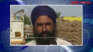 video : राजपुरा अनाज मंडी में लिफ्टिंग न होने से किसान और आढ़ती परेशान