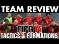 FIFA 14   Team Review   FC Bayern Munich Tactics / Formations (H2H Season) Best Full Guide