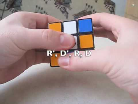How to Solve The Rubik's Cube - Part 3 - Solve The First Layer