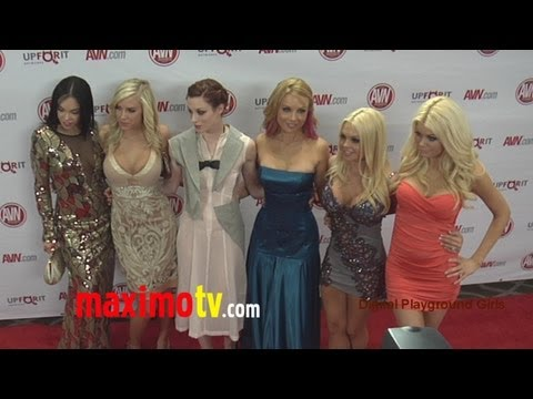 2012 AVN AWARDS SHOW Red Carpet ARRIVALS - Jesse Jane, Kayden Kross and MORE