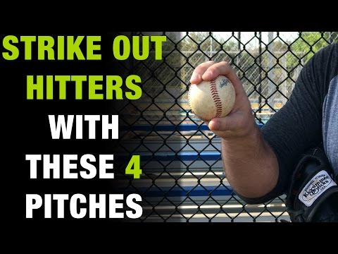 4 Pitching Grips To Get Out Any Hitter Alive!