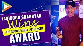 Faridoon Shahryar awarded as Best Social Media Influencer at 3rd Expandables Awards - HUNGAMA