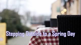 Royalty FreeComedy:Stepping Outside to a Spring Day