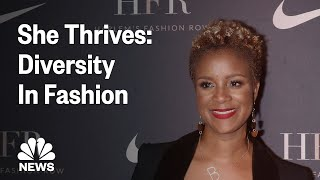 Brandice Daniel Provides A Platform For Multicultural Fashion Designers | NBC News - NBCNEWS