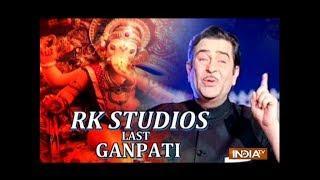 Ranbir Kapoor, Rishi Kapoor and Family Celebrate Last Ganpati Visarjan at RK Studios - INDIATV