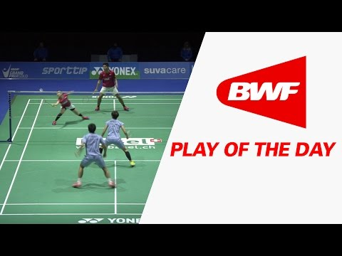 Play Of The Day | Badminton F - Yonex Swiss Open 2017