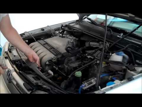 VR6 Upper Intake Manifold Removal - 720p How to DIY