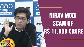 Raghav Chada Briefs on Nirav Modi Scam Of Rs 11,000 Crore, Blames  Modi Govt | Mango News - MANGONEWS