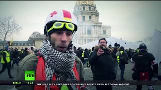 Medics on high alert: 80-thousand people participated in Yellow Vest protests across France - RUSSIATODAY