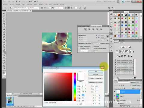 Crear una tarjeta de invitación infantil en Photoshop