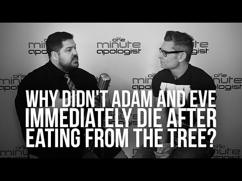 941. Why Didn't Adam And Eve Immediately Die After Eating From The Tree?
