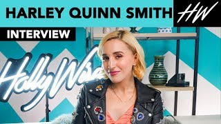 Harley Quinn Smith Opens Up About Quentin Tarantino Project & Her Dad, Kevin Smith! | Hollywire - HOLLYWIRETV