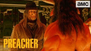 'Saint of Killers Deals w/ Satan' Talked About Scene Ep. 304 | Preacher - AMC