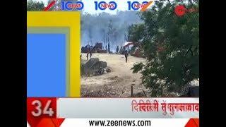 Headlines: Fire in scrap godown in Tughlakabad village of New Delhi under control - ZEENEWS