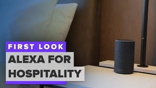 Alexa is coming to your hotel room - CNETTV