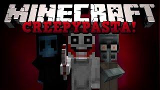 Minecraft: ����������! (Jeff the Killer, Squidwards Suicide � ��) ����� ����� [CreepyPastaCraft]
