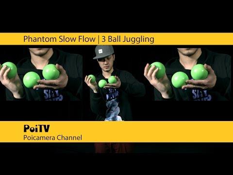 スーパースロージャグリング:3ボール #1 | Daggle Komei