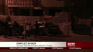 See the news report video by Graeme Bannerman talks about dire situation in Gaza