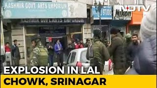 Explosion At Srinagar's High-Security Lal Chowk Damages Shops, Vehicles - NDTV