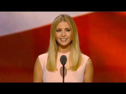 Ivanka Trump's full speech during day four of the RNC
