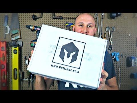BattlBox Unboxing