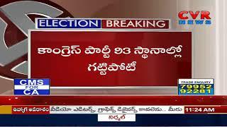 Close Fight Between BJP And Congress In Madhya Pradesh   CVR News - CVRNEWSOFFICIAL