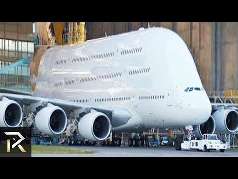 10 Abnormally Large Airplanes That Actually Fly