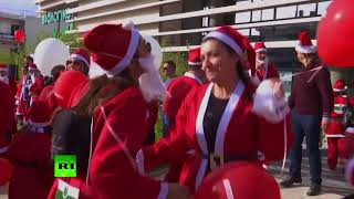 Run, Santa, Run! Annual Christmas marathon in Greece gets underway - RUSSIATODAY