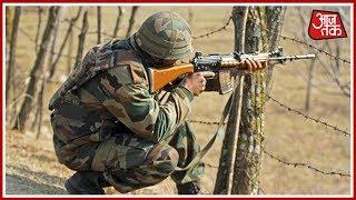 24 घंटे से सरहद पर पाक फायरिंग; जवाबी कार्रवाई में 5 पाक सैनिक ढेर   100 शहर 100 ख़बर - AAJTAKTV