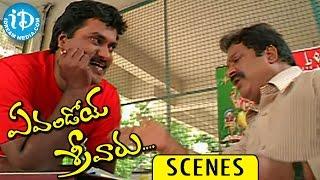 Evandoi Srivaru Movie Scenes || Sunil Funny Scene with Dharmavarapu Subramanyam - IDREAMMOVIES