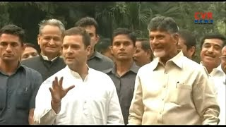 Chandrababu Naidu to Campaign with Rahul Gandhi in Telangana on Nov 28th | CVR News - CVRNEWSOFFICIAL