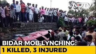 Techie Killed, 3 Injured By Rumour-Driven Mob In Karnataka's Bidar - NDTV