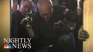 Elevator Drops 84 Floors In One Of Chicago's Tallest Buildings | NBC Nightly News - NBCNEWS
