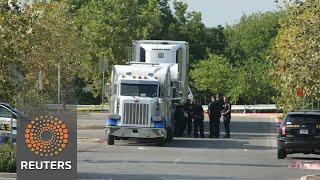Eight found dead in Texas truck, human trafficking alleged - REUTERSVIDEO
