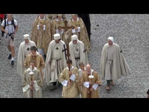 Praha - průvod při Korunovačních slavnostech