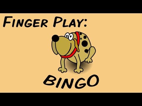 BINGO (fingerplay song for children)