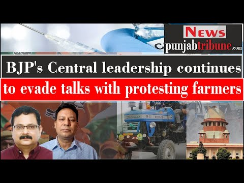 <p>BJP's Central leadership continues to evade talks with protesting farmers</p>