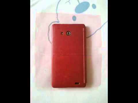 KLD Enland Huawei Ascend Mate Case Red Colour