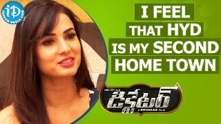 I Feel That Hyderabad Is My Second Home Town - Sonal Chauhan || Talking Movies with iDream - IDREAMMOVIES