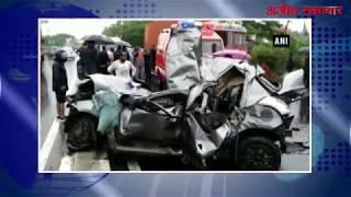 video : सड़क हादसे में सात की मौत, तीन घायल