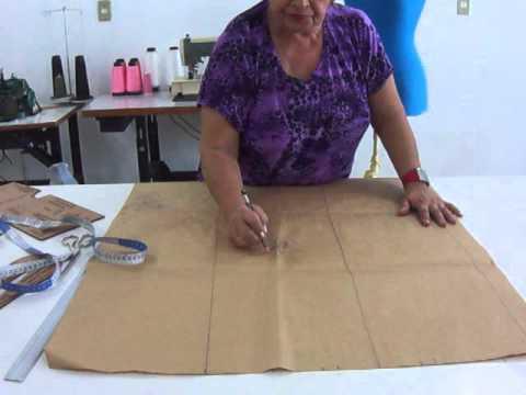 Modelagem de Calça Comprida