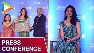 Anushka Sharma Attends Standard Chartered Press Conference - HUNGAMA