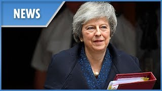 Theresa May departs No 10 for PMQs - THESUNNEWSPAPER